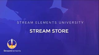 StreamElements Stream Store Tutorial thumbnail