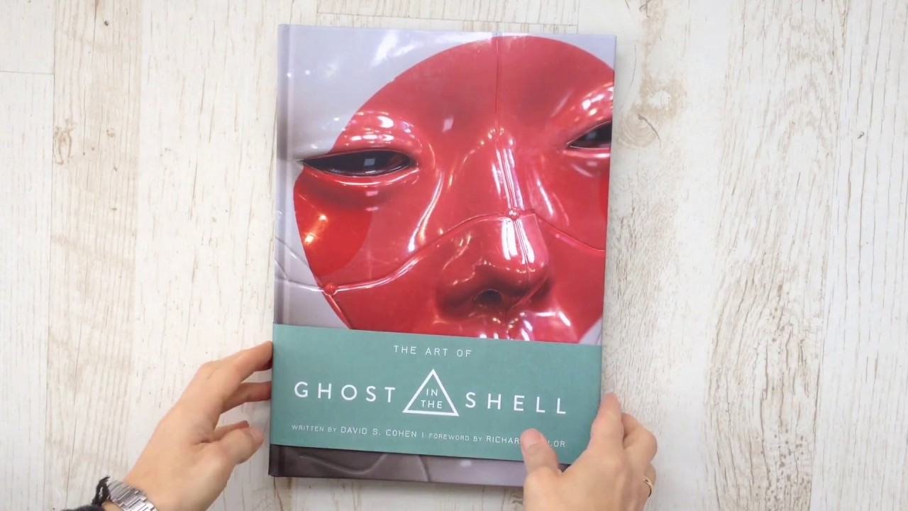 The Art Of Ghost In The Shell Quicklook Coolbook Youtube