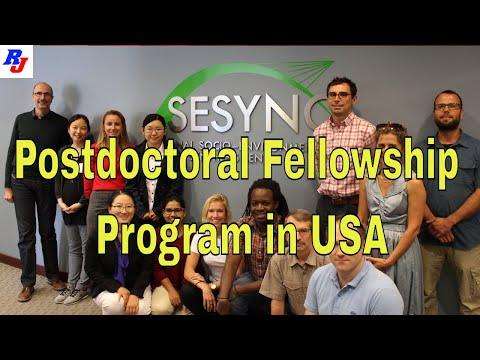 Postdoctoral Fellowship Program In USA