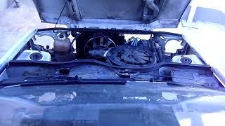 Mise en route laborieuse d'un moteur Renault C3J serré sur super5 1.4 injection