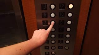 Fun, Relay Controlled Old Otis Traction Elevators at The Ellis Building, Sarasota, FL