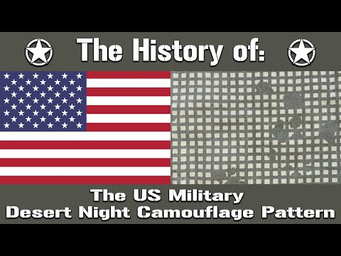 The History Of: The US Military Desert Night Camouflage Pattern | Uniform History