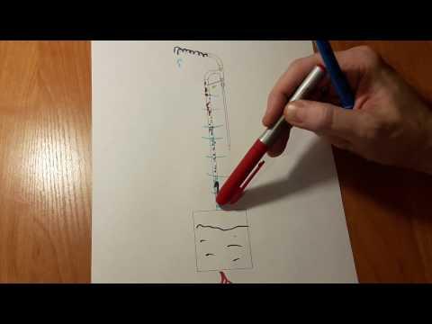 Как устроена ректификационная колонна для спирта чертеж
