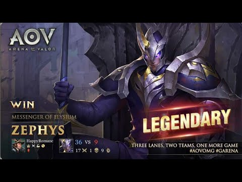 Zephys Pro Build Gameplay Tips And Tricks Arena Of Valor Zephys Guide
