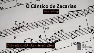 17/5/2020 Culto da manhã (Ao vivo) - Rev. Sergio Lima