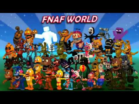 Fnaf world update 2 android apk - YouTube