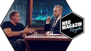 Ralf Moeller zu Gast im Neo Magazin Royale