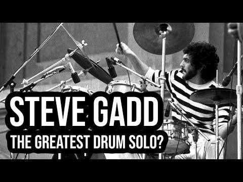 Steve Gadd: The DRUM SOLO That Changed Popular