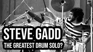 Steve Gadd: The DRUM SOLO That Changed Popular Music