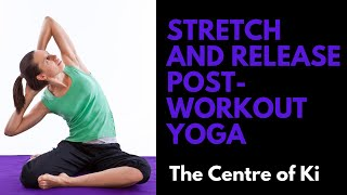 Stretch and release: Post-workout yoga class
