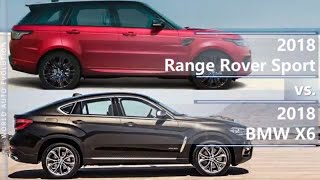 2018 Range Rover Sport vs 2018 BMW X6 (technical comparison)