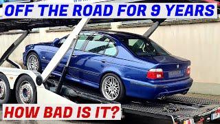 Delivery & Inspection - Garage Find V8 BMW E39 M5 - Project Skövde: Part 2