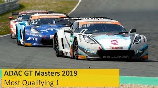 ADAC GT Masters Qualifying 1 Most 2019 Re-Live