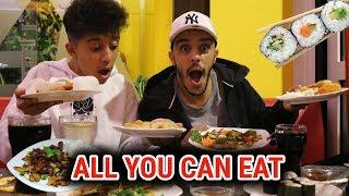 ALL YOU CAN EAT EXPERIMENT Werden wir Raus Geschmissen ?