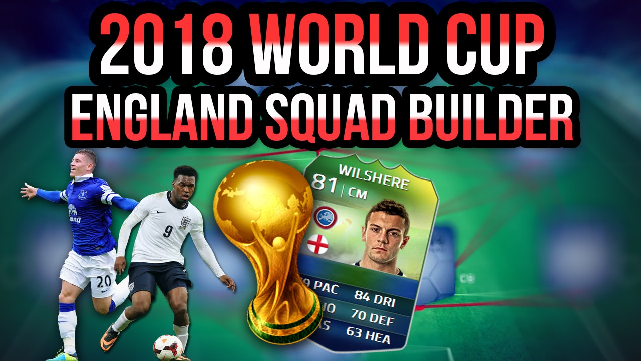 Fifa World Cup 2018 England Squad