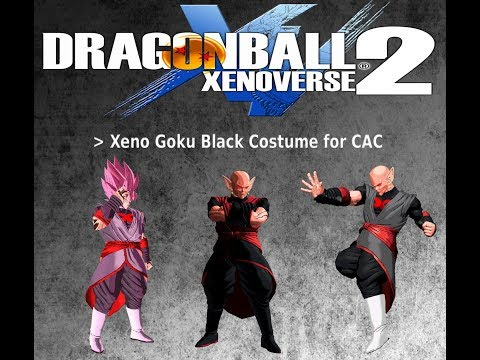Xenoverse 2 Mod Showcase Xeno Goku Black Costume X2m Version