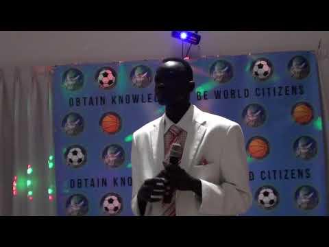 South Sudanese Artist Monies Malual Lueeth live Oct 21, 2017