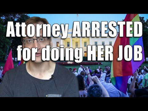 Protesters' Lawyer ARRESTED When She Tries To Explain The LAW To A JUDGE
