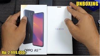 Unboxing OPPO A5 2020 - 4 Kamera belakang, Baterai 5.000 mAh & Dual Speaker