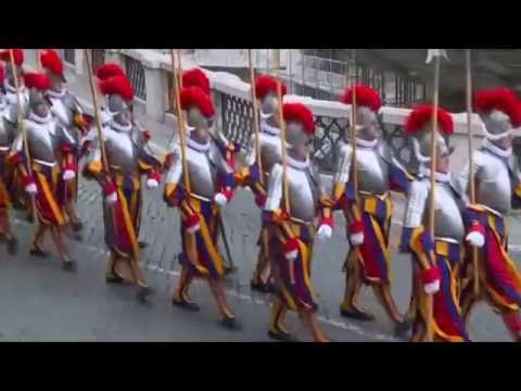 SABATON - The Last Stand (w Lyrics)   Pontifical Swiss Guard