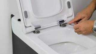 How to install a soft-close toilet seat screenshot 2