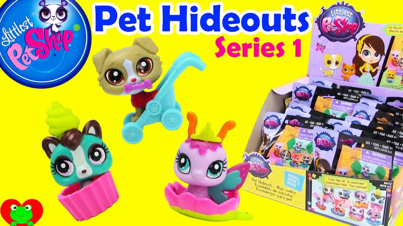 Littlest Pet Shop Pet Hideouts Series 1 Blind Bags Youtube