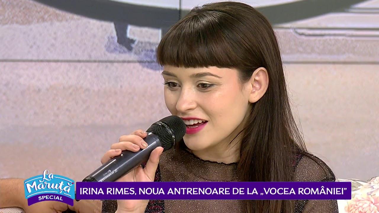 Irina Rimes, noul jurat la Vocea Romaniei