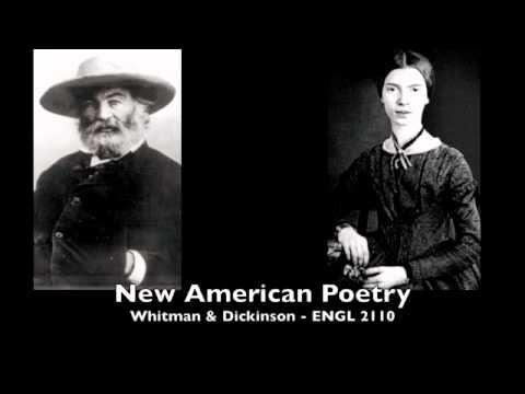 Week 13 - Whitman & Dickinson