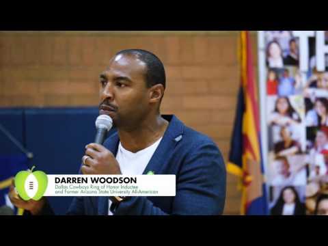 Darren Woodson - Banner Hanging 2015 (60sec Version)