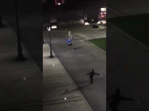 Djokovic playing tennis with some kids in his neighborhood, Block 65, Belgrade (a link that's working)