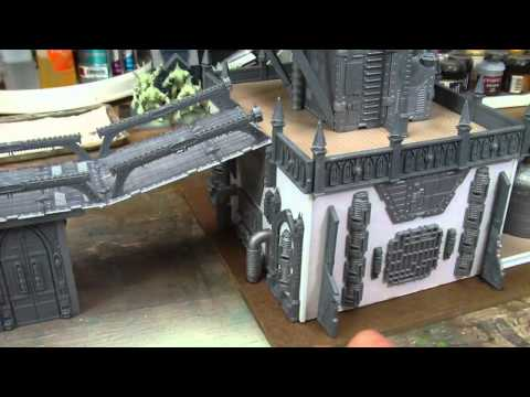 TerranScapes - Imperial Sector WIP 2 - 40k City Fight Buildings