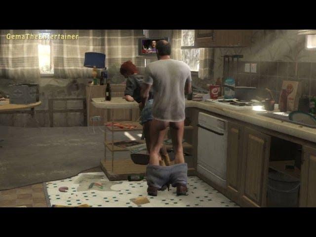 ?GTA 5 - Trevor and Ashley Sex Scene! (The Death of Johnny)