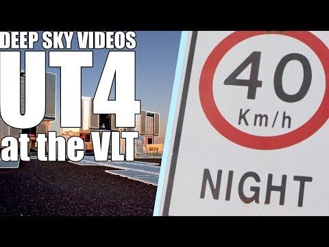 Inside the VLT (UT4)  - Deep Sky Videos