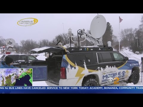 Mobile Weather Lab Braves The Elements In Sparta, NJ