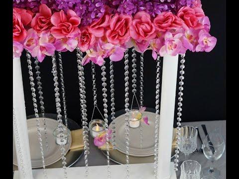 flower-tower-wedding-centerpiece-/-diy-/-how-to-create-this-flower-tower-wedding-centerpiece