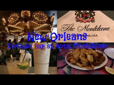 NEW ORLEANS: Carousel Bar At Hotel Monteleone & Olde NOLA Cookery