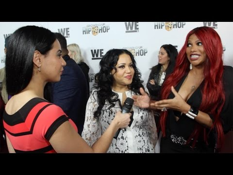 "Hip Hop Legends Salt-N-Pepa Interview ""Growing Up Hip Hop"" Premiere in NYC"