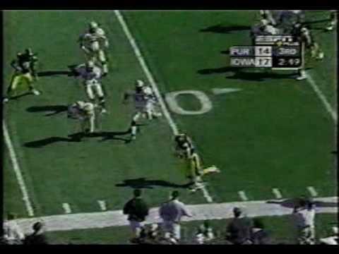 2002 Iowa vs Purdue - 95 Yard Dallas Clark TD