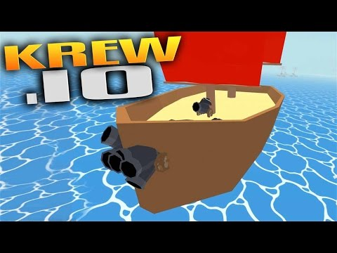 Krew.io Gameplay - Captain F#%kBeard & The Ostrich Technique! (Let's Play Krew.io Gameplay) (Mature)