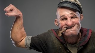 Full Popeye Make-up Demo from Doctor Who and SNL Make-up Artists thumbnail
