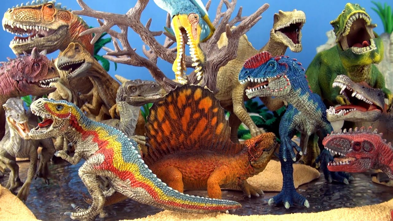 Dinosaurs Toys Collection : Carnivores dinosaur collection schleich dinosaurs