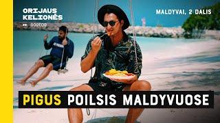 Orijaus kelionės. 2 sezonas, 9 laida. Pigus poilsis Maldyvuose (Maldyvai, 2 dalis)