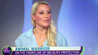 Pascale Terry from World Animal Warriors talks to the Daily Edition on Channel 7 (interview #3)
