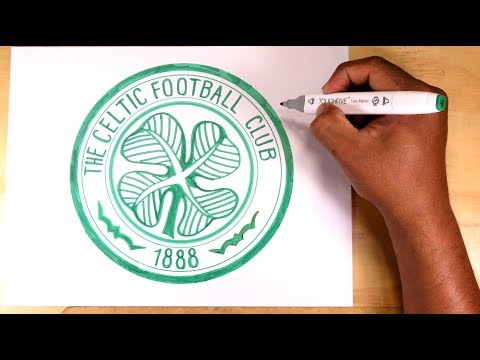 How To Draw The Celtic Football Club Shield