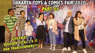 TOYS & COMIC FAIR 2020 - EPISODE 01 - GIVEAWAY VOUCHER 2.5 JUTA + MAINAN TRANSFORMERS!!