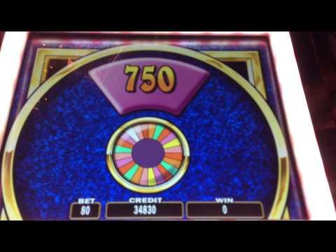 Wheel of fortune slot machine wins