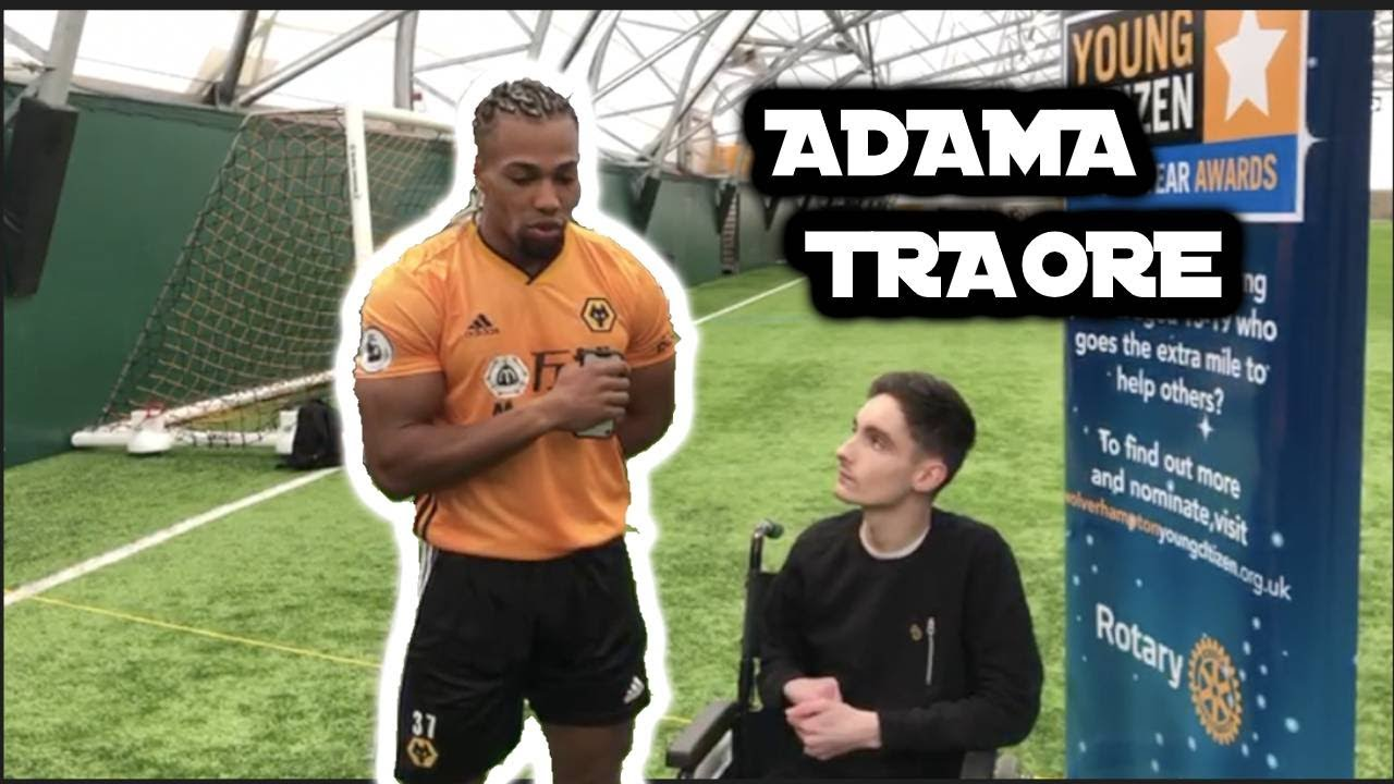 Adama Traore Interview Nuno Has Helped Me A Lot Says Wolves Winger Youtube