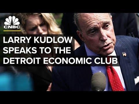 Larry Kudlow Speaks to the Detroit Economic Club - Oct. 18, 2018