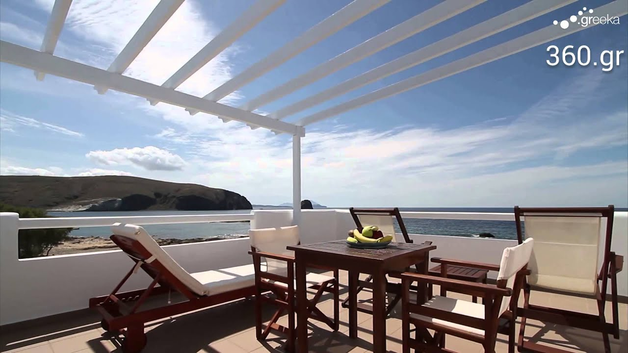 Hotel Video: Tania villa in Milos island - YouTube