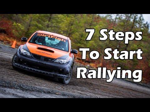 How To Start Rally Racing